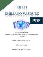 Liceo Emiliano Vasquez Aybar Zayas
