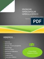 Síndrome Hiperosmolar Hiperglucémico 1