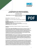 14thIACCfinalplenaryreport Anti-CorruptionAgencies 1
