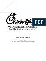 chick-fil-a ib group project