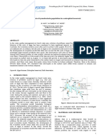 Measurements of Cyanobacteria Population in a Eutrophied Reservoir