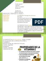 Vitamin As lipidos y proteinas en resumen