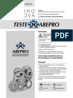 Teste Abepro Ed05