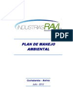 INDUSTRIAS RAVI Plan de Manejo Ambiental 2012 10 04