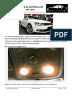Sistema de Iluminação Do VW Jetta