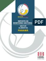 REPORTE DE MONITOREO SECTORIAL ALIMENTOS