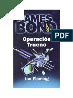 Ian Fleming - 1961 - Operacion Trueno
