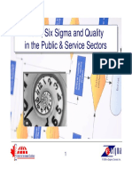 Introduction to Lean and Six Sigma Principles, Methods and Tools