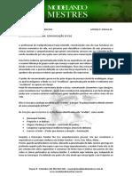 Modelagem de Excelências - Comunicação Eficaz