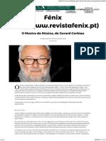 O Mestre Da Música, De Gerard Corbiau – Fénix