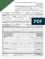 Formulario Unico de Afiliacion EPS Sanitas