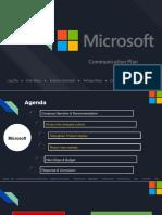 microsoft recommendation presentation