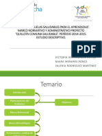 Proyecto Quillota Comuna saludable 2014-2015