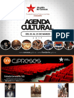 Agenda Cultural 2da Quincena de Marzo 01