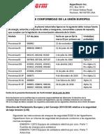Powermax Combined Declaration - Spanish