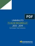 Plan Estrategico Sede CUNDINAMARCA 2013-2014