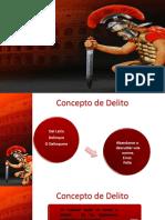 Delito en Derecho Romano (1) (1)