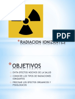 Radiacion Ionizantes
