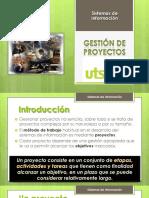 3. Gestión de Proyectos