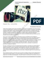 Debatir La Etica Periodistica Por Humberto Musacchio