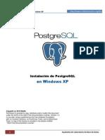 Instalacion de PostgreSQL-Windows