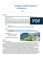 [REVISED2] Mexico - Instituto Technologico y Estudios Superiores de Monterrey