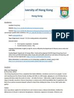 [REVISED2] Hong Kong - University of Hong Kong