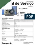 Panasonic TC 42AS610B