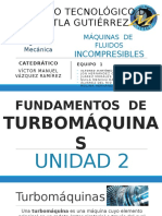 Unidad 2 Turbomaquinas
