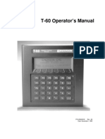 T-60 Operation Manual