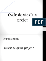 Cycle de Vie d'Un Projet