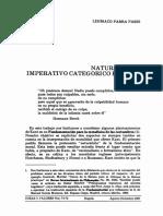 Naturaleza e imperativo categórico en kant.pdf