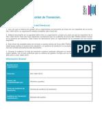 Checklist de Transicion