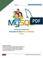 Usuarios en MySQL Parte2