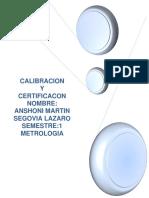 CALIBRACION    Y   CERTIFICACON          NOMBRE.docx