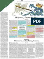 Belgrano y La Prensa Libre