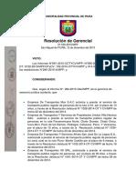 Resolucion de Alcaldia Procesal Administrativo