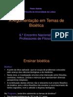 Argumentos Em Bioética