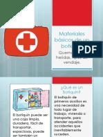Materiales Basico de Primeros Auxilios