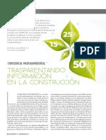 Transparentando la Información en Construcción