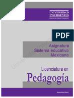 B19 Sistema Educativo Mexicano ME