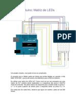 Arduino Matriz de LED