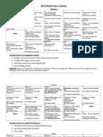 18- model project calendar