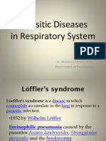 Parasitic Diseases in Respiratory System