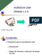 Kaizen-Lean Manufacturinng Modulos 1 a 3