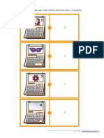 6-Domino Encadenado Meses Picto Numero