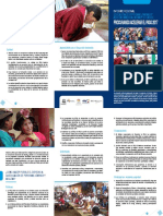 Tríptico Informe Regional CEAAL