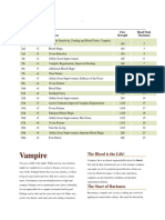 D D5e - Vampire Class - 20 Level Advanced Player Class