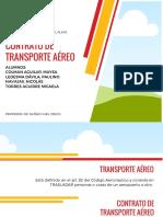 Contrato de Transporte Aéreo
