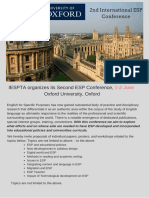 ESP Conference Oxford